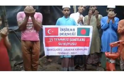İnşirah Derneği Bangladeş'e 15 Temmuz Şehitler kuyusu açtı